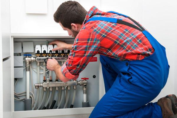 Service commerciale de plomberie